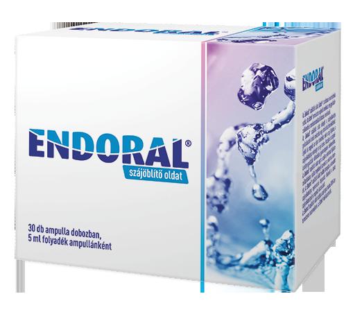 endoral szájöblítő oldalt - szájszárazság, szájnyálkahártya-gyulladás
